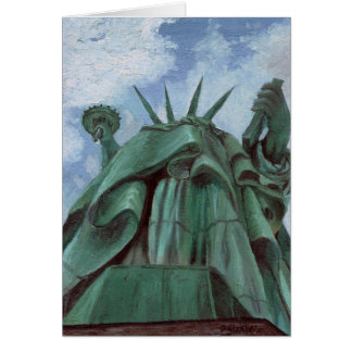 Lady Liberty Note Card