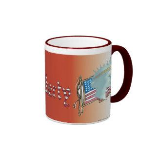 Lady Liberty Cup Coffee Mugs