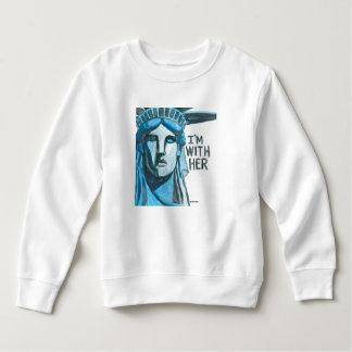 Lady Liberty - I'm With Her Sweatshirt