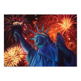 Lady Liberty Invitations