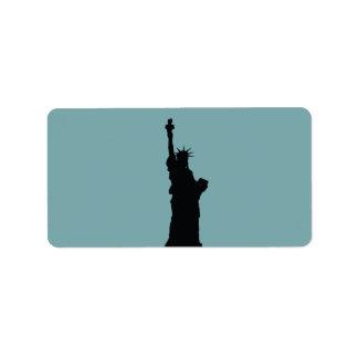 Lady Liberty Labels