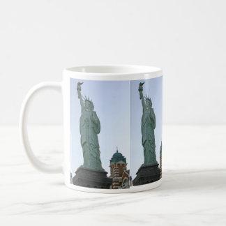 lady liberty, lady liberty, lady liberty, lady ... basic white mug