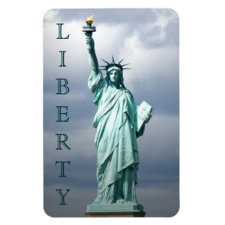 Lady Liberty, NYC Rectangular Photo Magnet