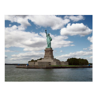 Lady Liberty on a Summer Day Postcard