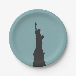 Lady Liberty Paper Plates 7 Inch Paper Plate
