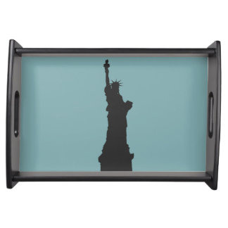 Lady Liberty Serving Tray