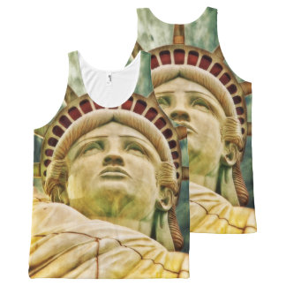 Lady Liberty, Statue of Liberty All-Over Print Tank Top