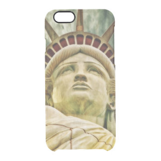 Lady Liberty, Statue of Liberty Clear iPhone 6/6S Case