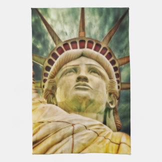 Lady Liberty, Statue of Liberty Tea Towel
