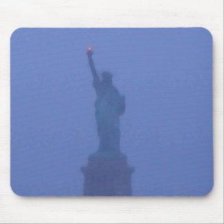 Lady Liberty The Statue of Liberty USA July 4th Mouse Pads