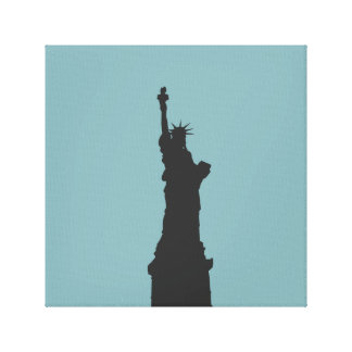 Lady Liberty Wrapped Canvas