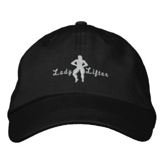 Lady Lifter Embroidered Hat