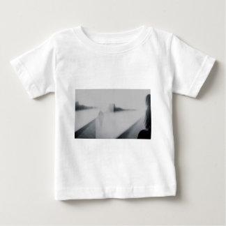 Lady looking AT man Analog 35mm black and white T-shirt