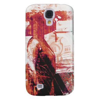 Lady Love red Galaxy S4 Case