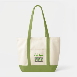 Lady Luck 777 Accent Bag, use on St. Patrick's Day Tote Bag