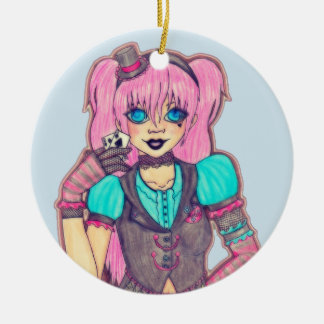 Lady Luck Christmas Ornament