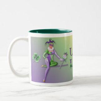 Lady Luck Harlequin Mugs