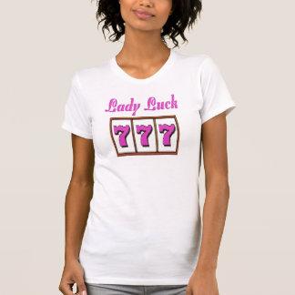 Lady Luck Pink 777 Las Vegas T-Shirt