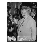 Lady Luck Postcard
