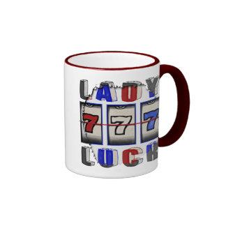Lady Luck Ringer Mug