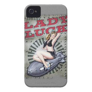 Lady luck WW2 phone case