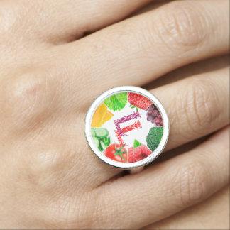Lady Luna Logo Ring