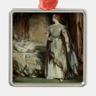 Lady Macbeth, 1850 Christmas Ornament