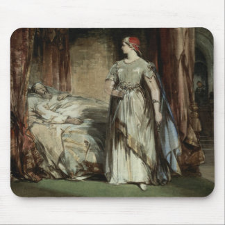 Lady Macbeth, 1850 Mouse Mat