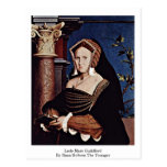 Lady Mary Guildford By Hans Holbein The Younger Postcards