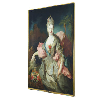 Lady Mary Josephine Drummond, Countess of Castelbl Canvas Print
