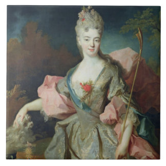 Lady Mary Josephine Drummond, Countess of Castelbl Large Square Tile