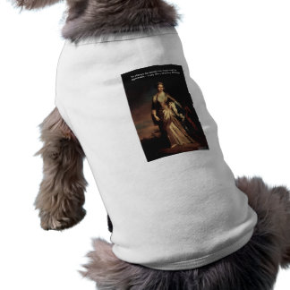 Lady Mary Montagu Quote Love Is Agreeable Gifts Sleeveless Dog Shirt