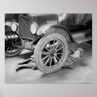 Lady Mechanic 1920 Posters