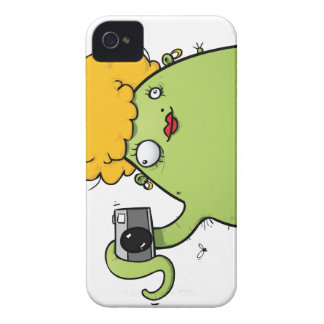 Lady Monster Photographer iPhone 4 4s Cover