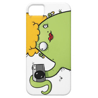 Lady Monster Photographer iPhone 5  Cover