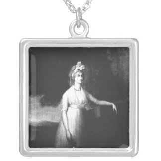 Lady Nelson Silver Plated Necklace