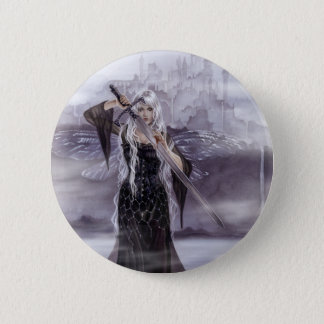 Lady of Avalon Badge/Button 6 Cm Round Badge