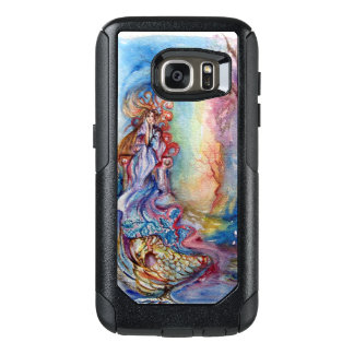 LADY OF LAKE / Magic and Mystery Pink Blue Fantasy OtterBox Samsung Galaxy S7 Case