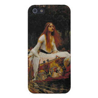 Lady of Shallot Pre-Raphaelite Painting iPhone 5 Cases