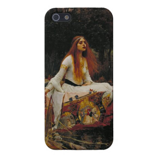 Lady of Shallot Pre-Raphaelite Painting Covers For iPhone 5