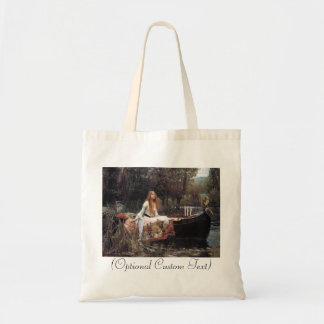 Lady of Shalott Budget Tote Bag