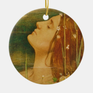 Lady of Shalott Christmas Ornament