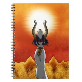 Lady of Sun Sekhmet Notebook