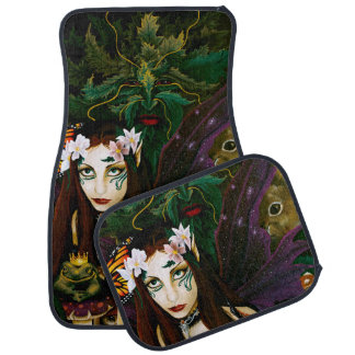 Lady of the Forest Car Mat