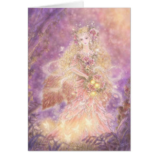 Lady of the Forest Greeting Card