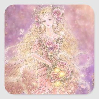 Lady of the Forest Square Sticker