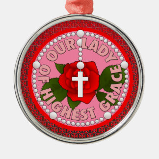 Lady of the Highest Grace Christmas Ornament