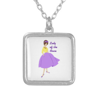 Lady Of The House Personalized Necklace