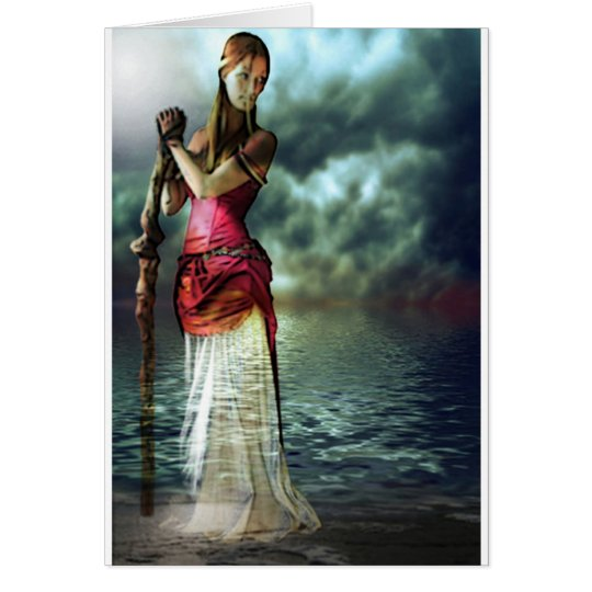 LADY OF THE LAKE CARD