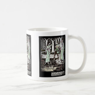 Lady of the Lake Tells About Excalibur Coffee Mug